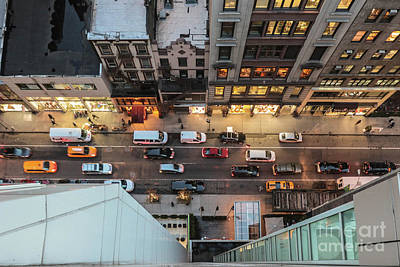 Photograph - West 37th St New York by Thomas Marchessault