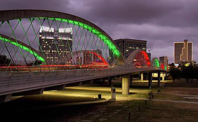 Photograph - West 7th Street Bridge2 by Debby Richards