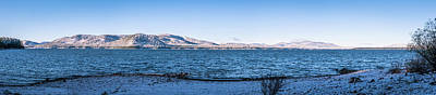 Photograph - West Almanor Blue by Jan Davies