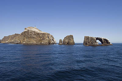 Anacapa Photograph - West Anacapa Island In The Channel by Rich Reid