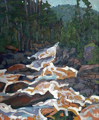 Painting - West Bank Of Grande Chute by Phil Chadwick