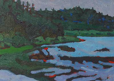 Portage Painting - West Bank Portage by Phil Chadwick
