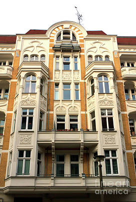 Photograph - West Berlin Architecture by John Rizzuto