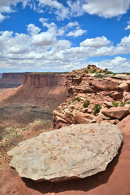 Photograph - West Canyonlands Overlook by Ray Mathis