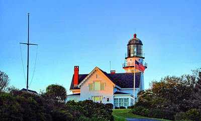 Photograph - West Cape Elizabeth Lighthouse by Ben Prepelka