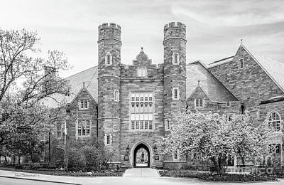 Chester Photograph - West Chester University Philips Hall by University Icons