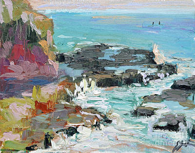Painting - West Cliff Heat by Sandra Smith-Dugan