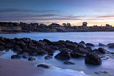 Photograph - West Cliff Santa Cruz Sunrise by Morgan Wright