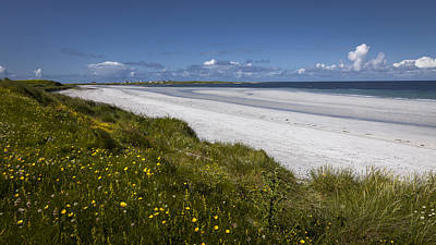 Photograph - West Coast Beach South Uist by Alex Saunders