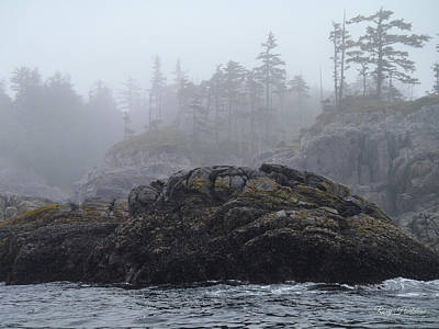 Photograph - West Coast Landscape Ocean Fog II by Roxy Hurtubise