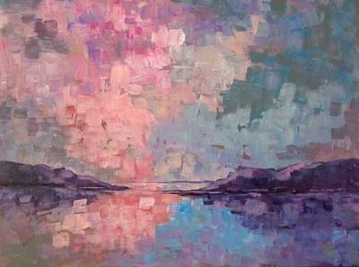 Painting - West Coast Of Scottland by Barbara O'Toole
