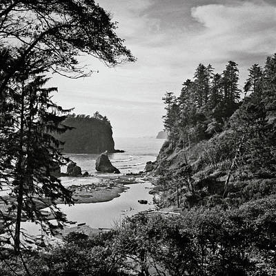 Olympic National Park Photograph - West Coast by Sbk_20d Pictures