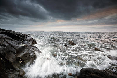 Photograph - West Coast Shore by Grant Glendinning