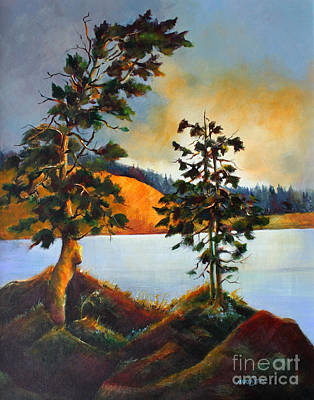 Painting - West Coast Sky 2 by Marta Styk