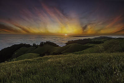 Photograph - West Coast Sunset by PhotoWorks By Don Hoekwater