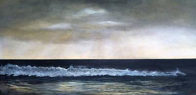West Coast Art Print by Victoria Heryet