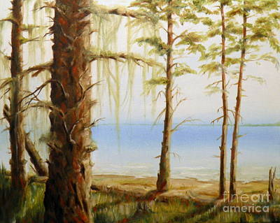 Painting - West Coast View by Ida Eriksen