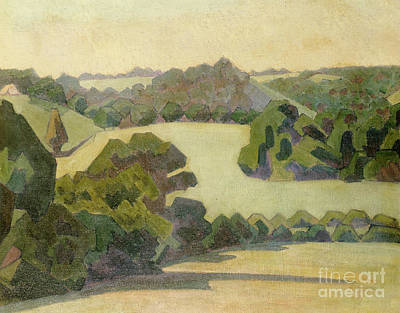 Painting - West Country Landscape by Robert Polhill Bevan