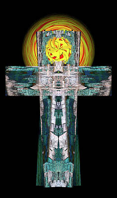 Digital Art - West East 39 Cross by Zac AlleyWalker Lowing