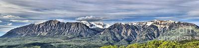 Photograph - West Elk Range Colorado Rockies by Adam Jewell
