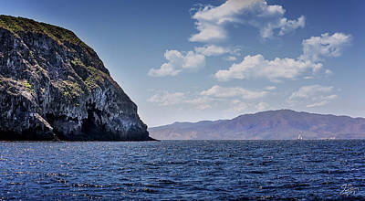 Photograph - West End Of Anacapa Island by Endre Balogh