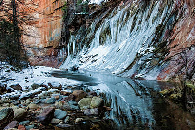 Photograph - West Fork 07-040 by Scott McAllister