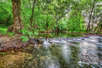 Photograph - West Fork Rock Spillway by David Smith