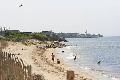 Photograph - West From Montauk Inlet by Christopher Kirby