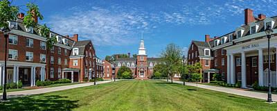 Ou. Ohio University Photograph - West Green, Ohio University by Robert Powell