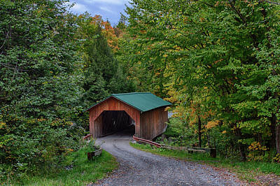 Photograph - West Hill Covered Bridge by Jeff Folger
