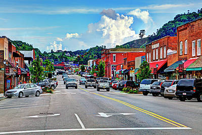 Photograph - West Jefferson Streetscape by Dale R Carlson