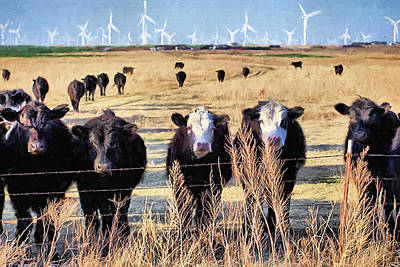 Digital Art - West Kansas Economics by JC Findley