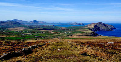 Photograph - West Kerry Panorama by Noel O Neill
