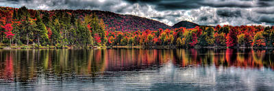 Photograph - West Lake Fall Panorama by David Patterson