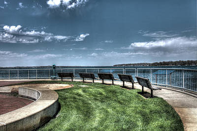 Photograph - West Lake Okoboji Pier by Gary Gunderson