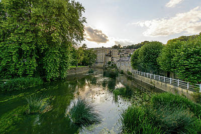 Photograph - West Look Over River Avon In Bradford-on-avon by Jacek Wojnarowski