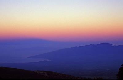 Photograph - West Maui At Dawn From Haleakala by John Burk