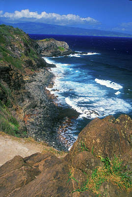 Photograph - West Maui Coast by John Burk