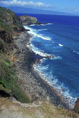 Photograph - West Maui Coast Overview by John Burk