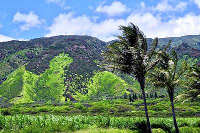 Photograph - West Maui Mountains by Kirsten Giving