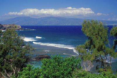 Photograph - West Maui Ocean View by John Burk