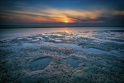 Photograph - West Meadow Beach Afterglow by Rick Berk