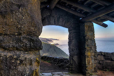 Photograph - West Observation Point - Oregon Coast by Mark Kiver