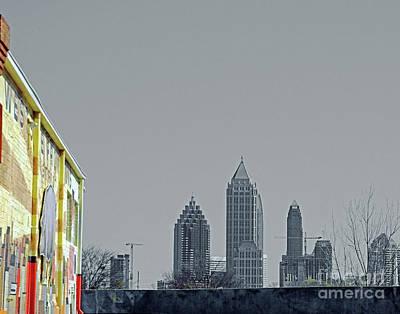 Photograph - West Of Downtown Atlanta by Lizi Beard-Ward