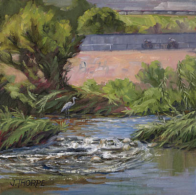 Painting - West Of Fletcher Bridge by Jane Thorpe