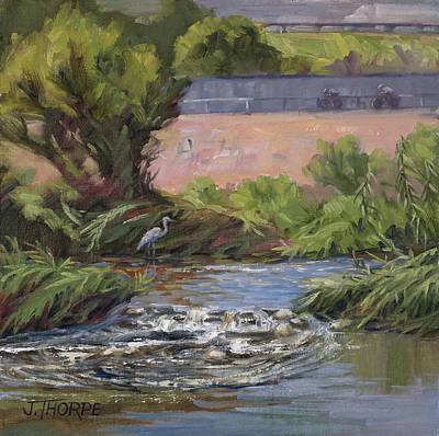 Painting - West Of Fletcher Bridge by Jane Thorpe