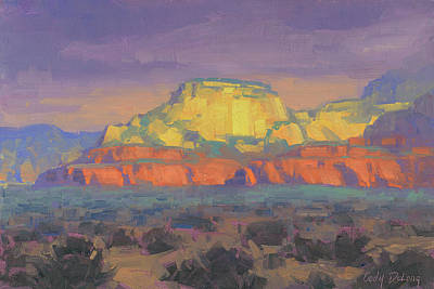 Paintings - West of Sedona by Cody DeLong