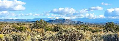 Photograph - West Of Taos by Brenda Pressnall
