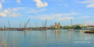 Photograph - West Palm Beach Panorama by Olga Hamilton