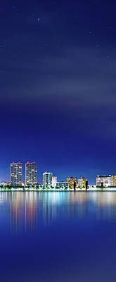 Photograph - West Palm Beach Skyline by Mark Andrew Thomas